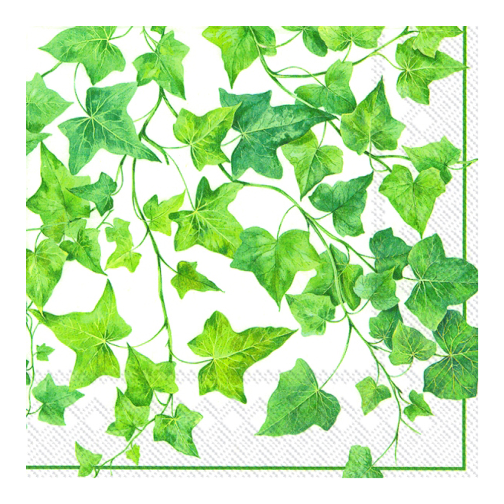 Servett 33x33 cm 20-pack Ivy Ornaments