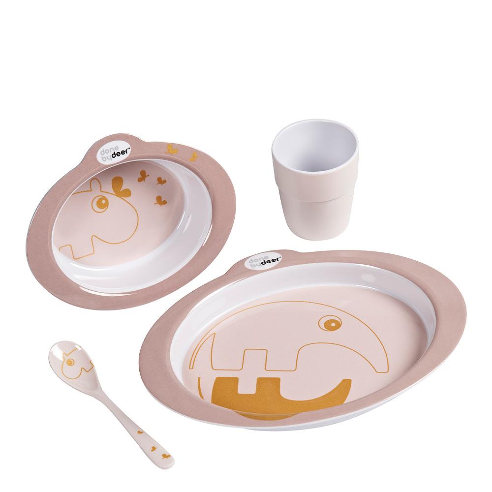 Meet & Eat Matset Contour Rosa/Guld