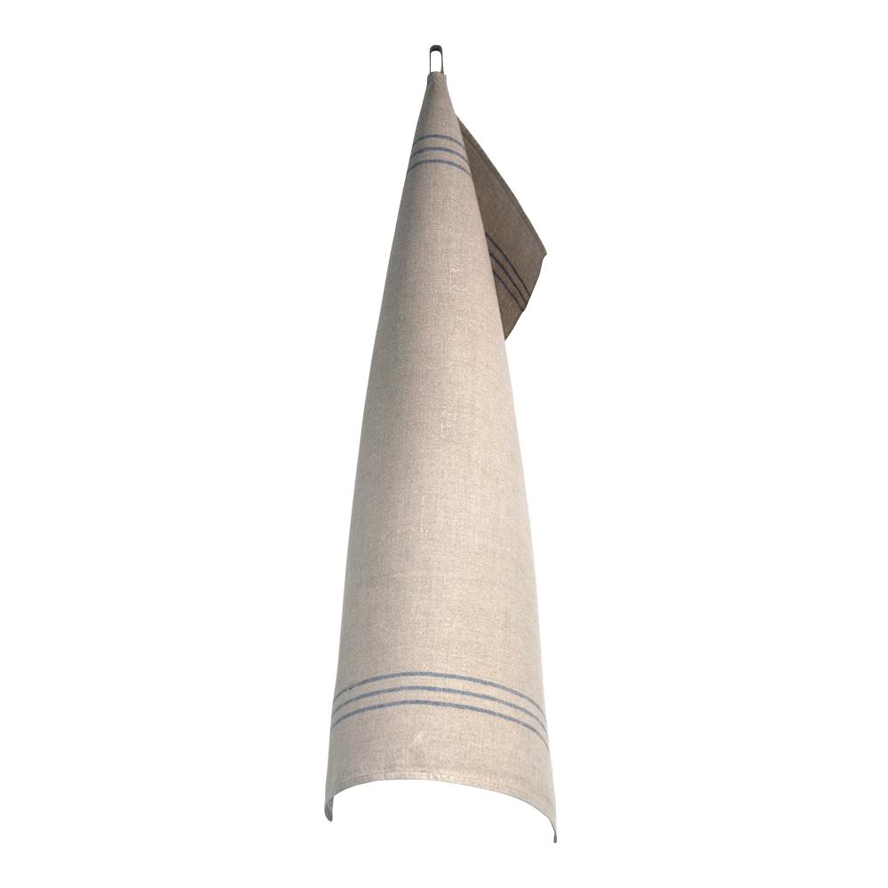 Handduk 50x70 cm Blå/Oblekt