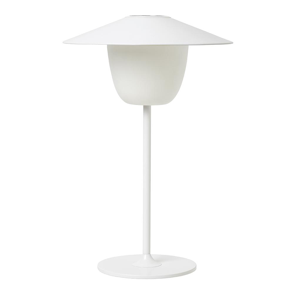 Ani Lamp  Sladdlös LED-Lampa uppladdningsbar Vit