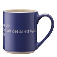 Mugg Blå - Astrid Lindgren Hyss hittar man inte på