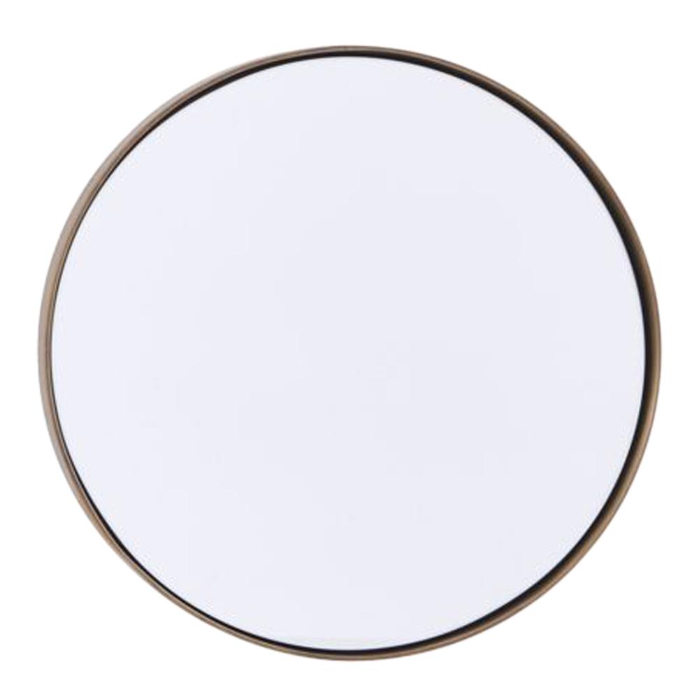 Reflektion Spegel 30 cm Antik mässing