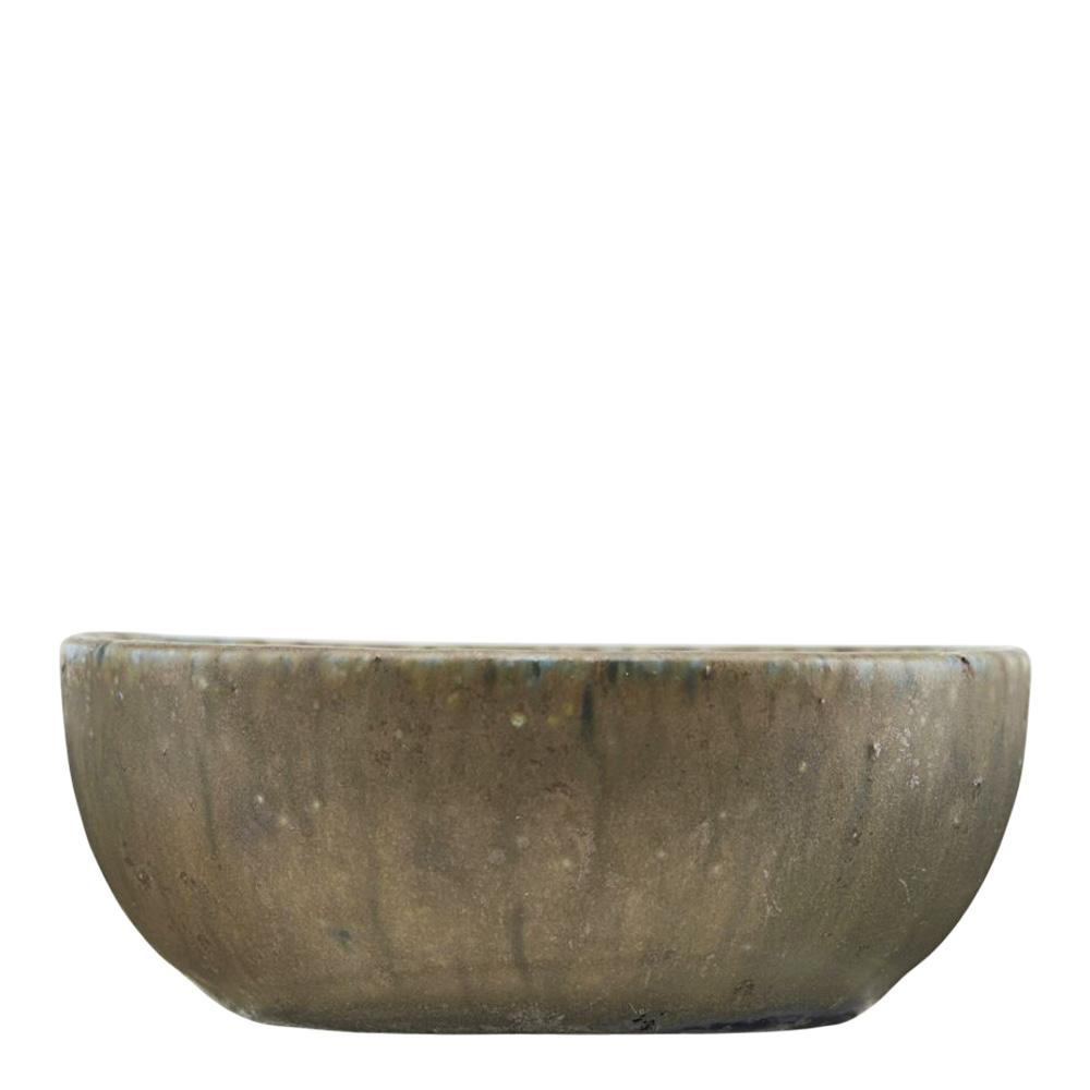 Diva Skål 8,5 cm Grön keramik