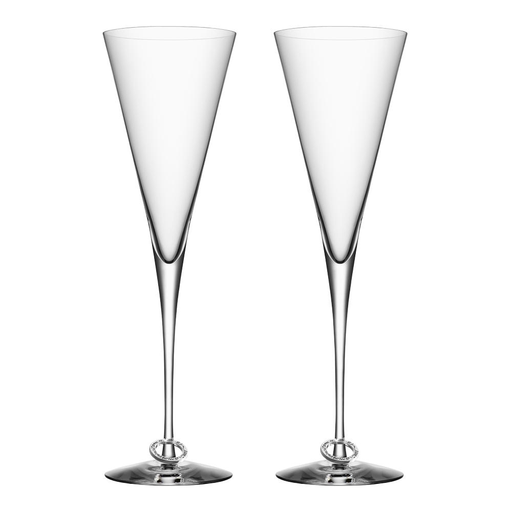 Amor Vincit Omnia Champagneglas 25 cl 2-pack