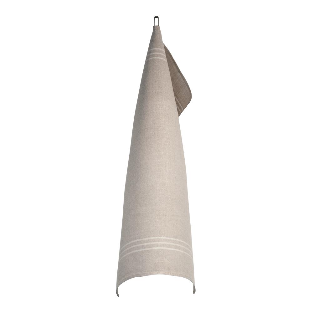 Handduk 50x70 cm Vit/Oblekt