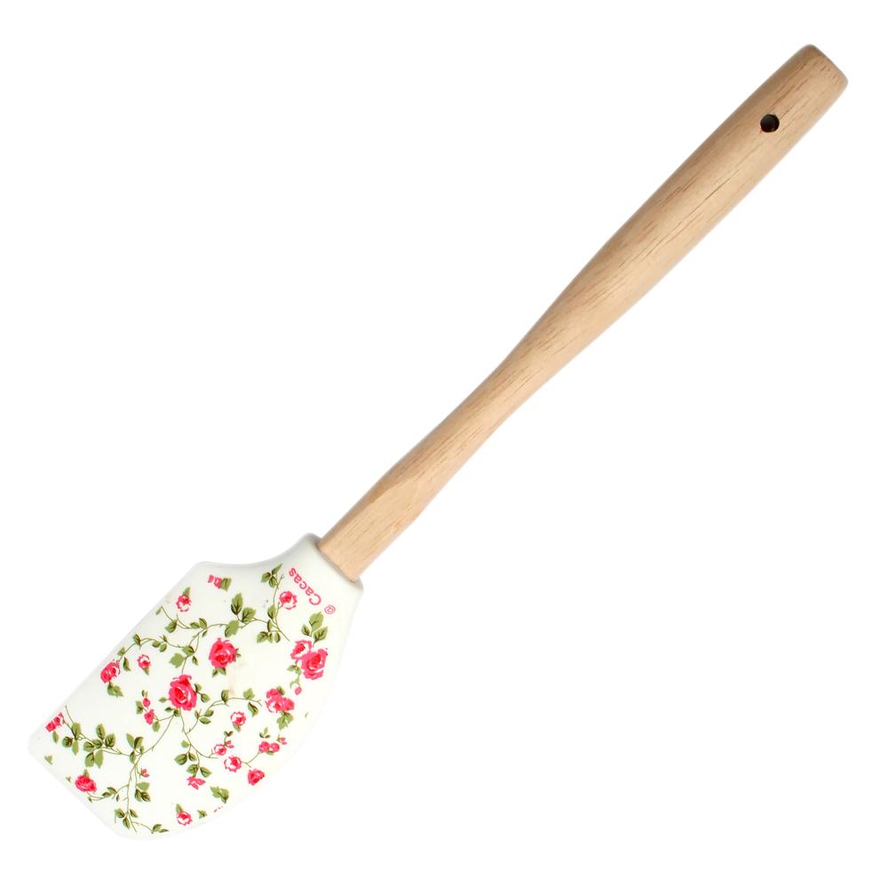 Baktillbehör Slickepott blommig Rosa