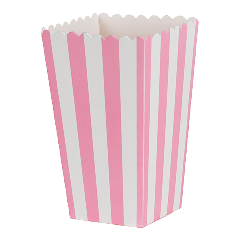 Popcornbox rosa r¿nder 6-pack