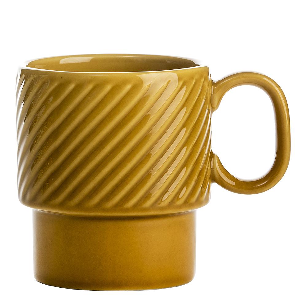 Coffee & More Kaffemugg Gul 25 cl