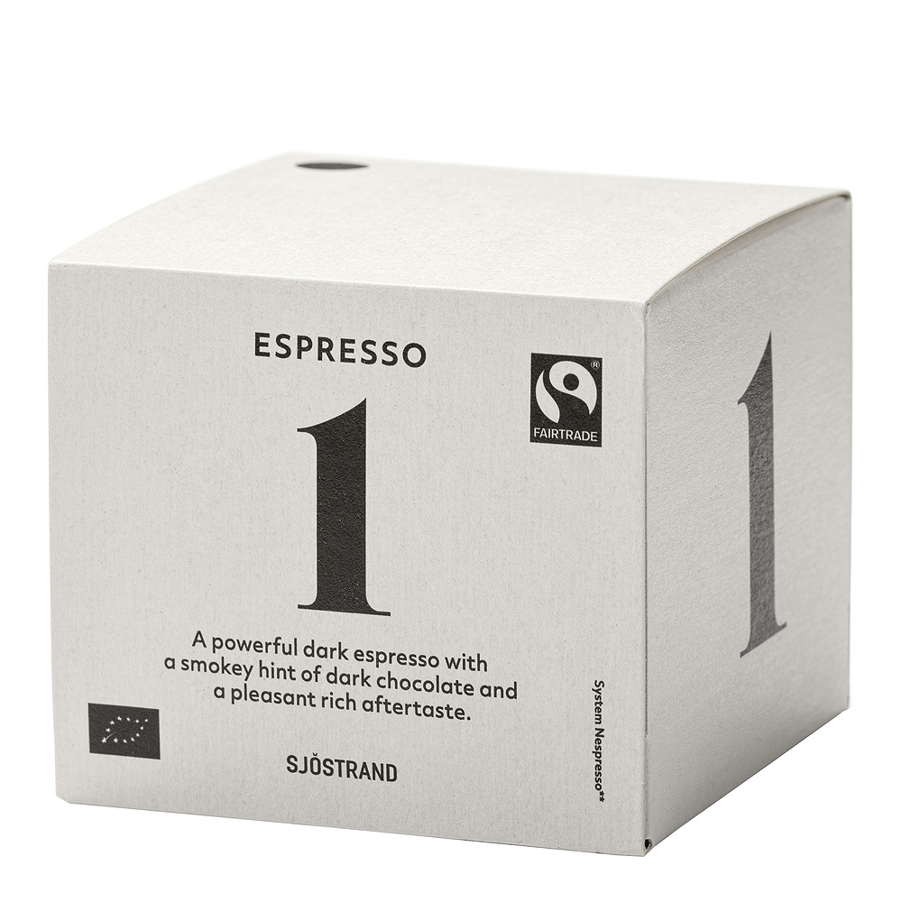 N°1 Espressokapslar 10-pack