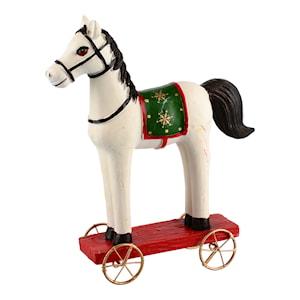 Jul Holmen Häst på hjul 12 cm