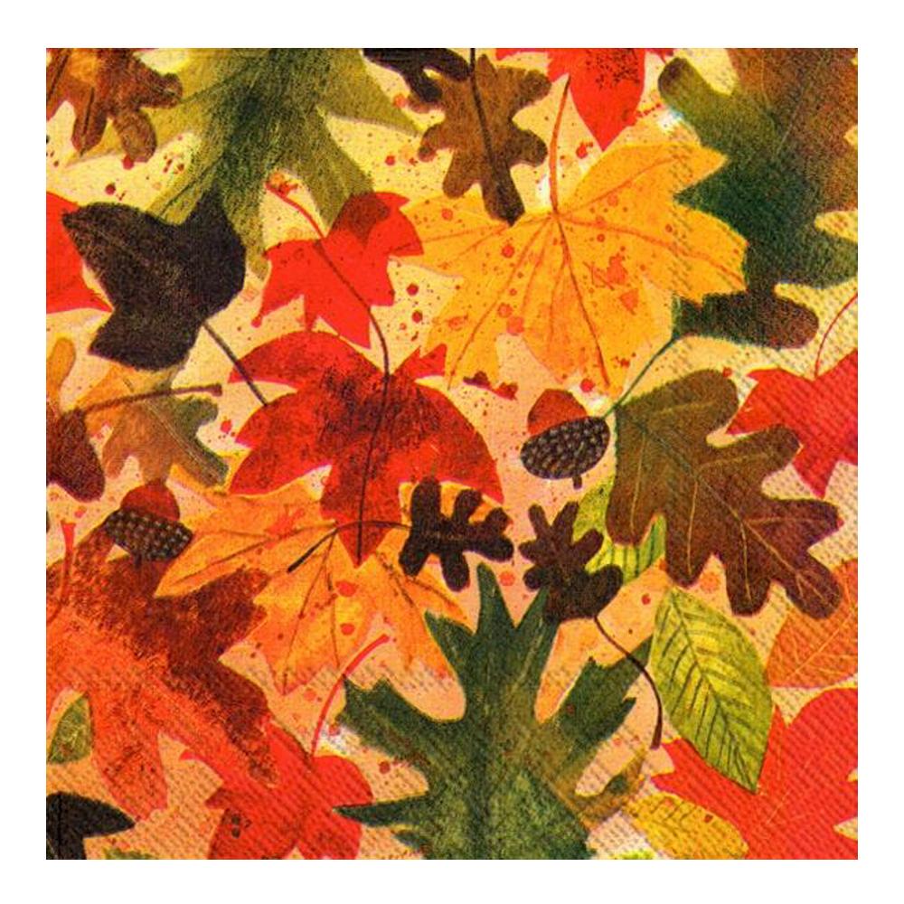 Servett 33x33 cm 20-pack Autumn leaves