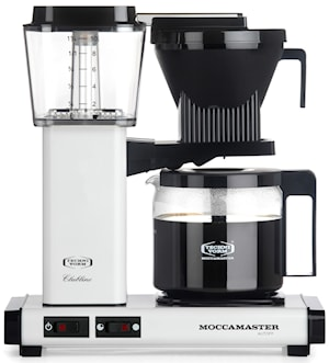 Kaffebryggare Vit polished KBG962AO