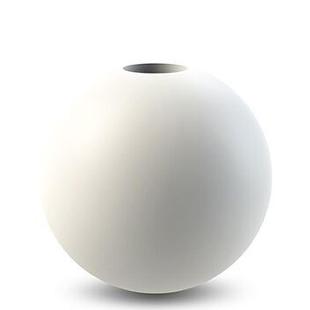 Ball Ljusstake Vit 8 cm