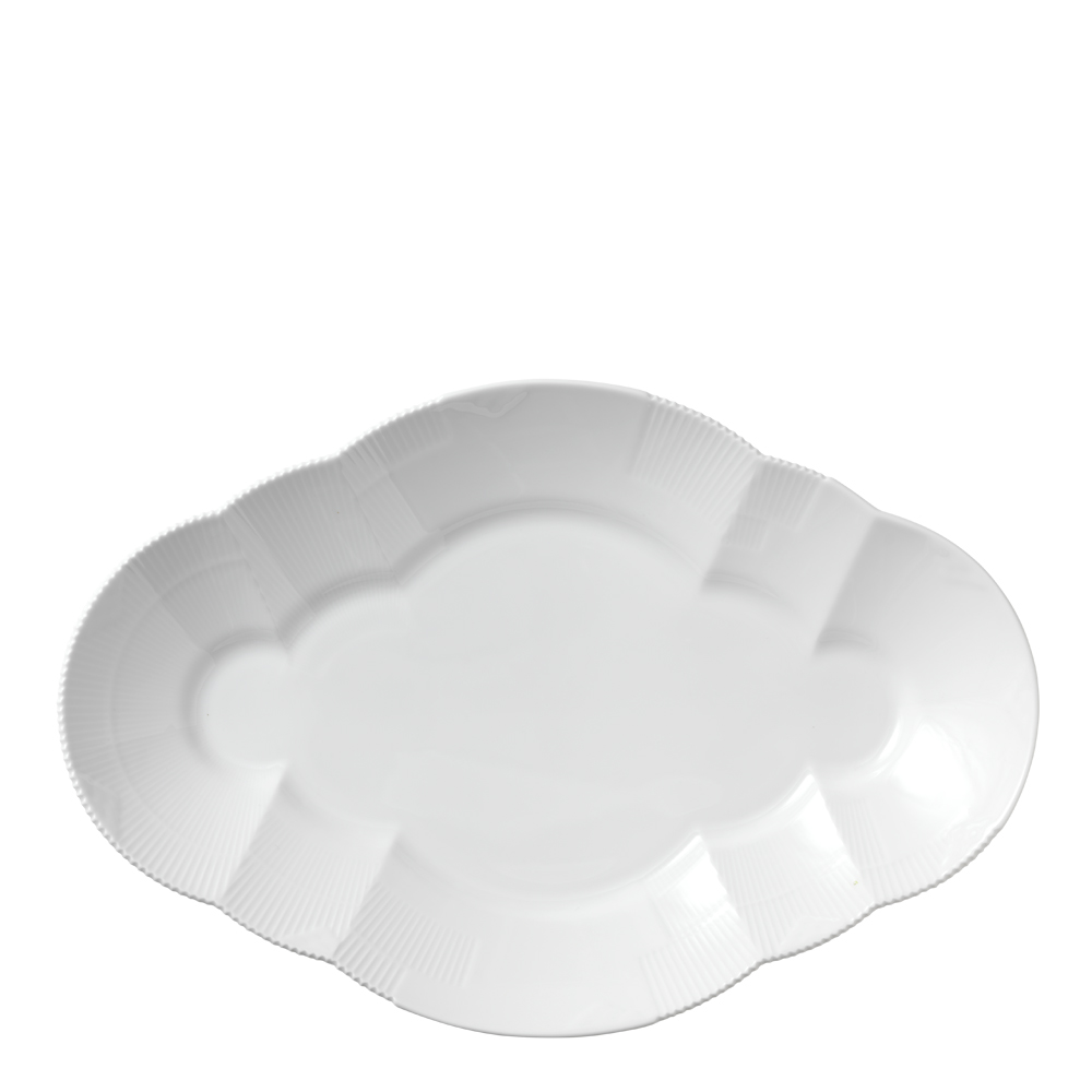 White Elements Fat 38,5 cm ovalt