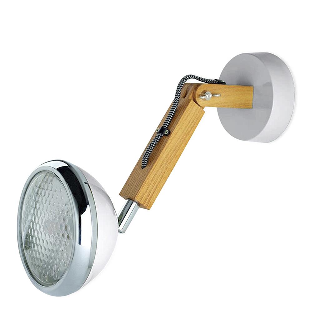 Mr Wattson Vägglampa LED Nardo Grey