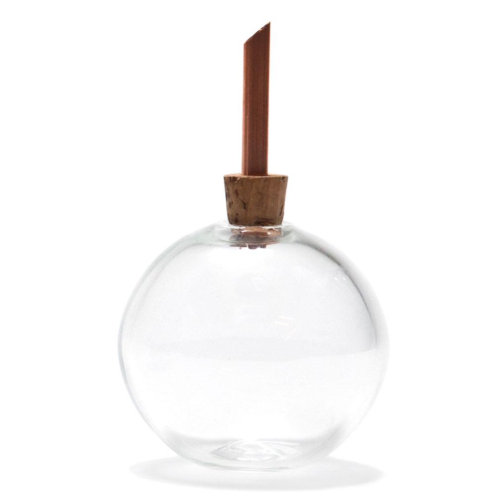 Glasilium Vas 65 cm Klar glas