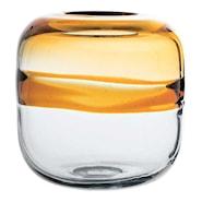 Glas Vas 16,5x16 cm Tvåfärgad