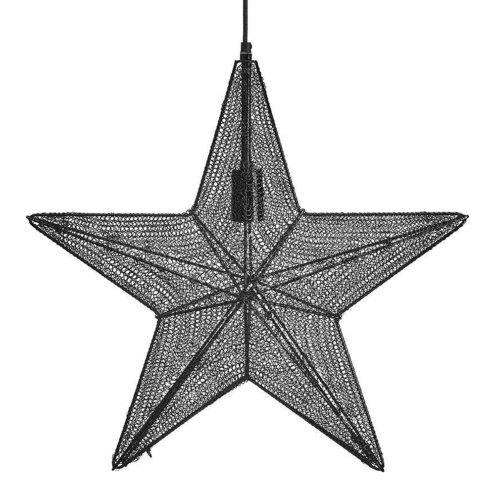 Orion Stjärna 44 cm Svart