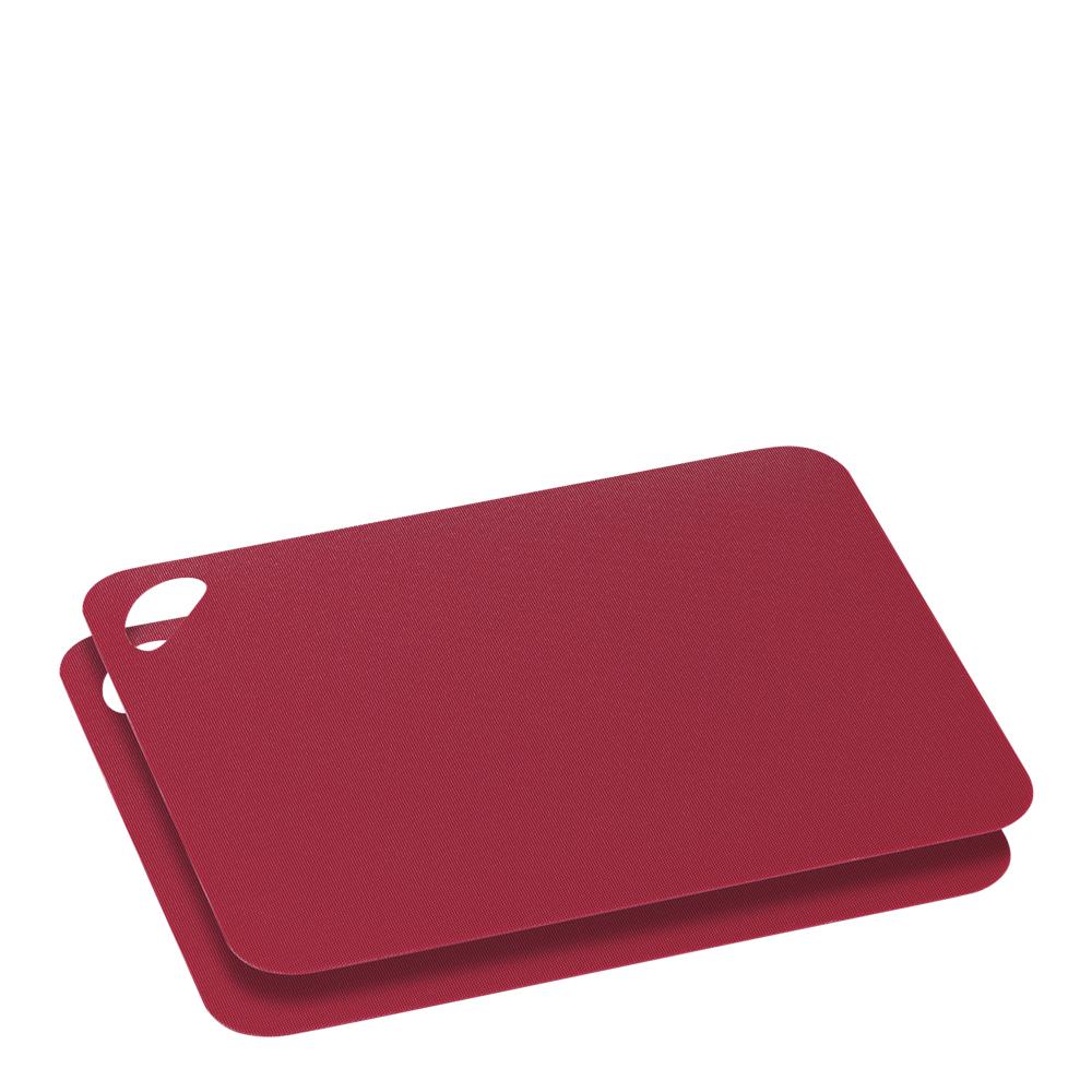 Skärbräda Flexibel 2-Pack Röd