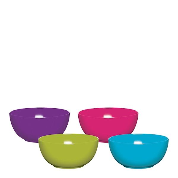 Colourworks Skål 4-pack Melmin