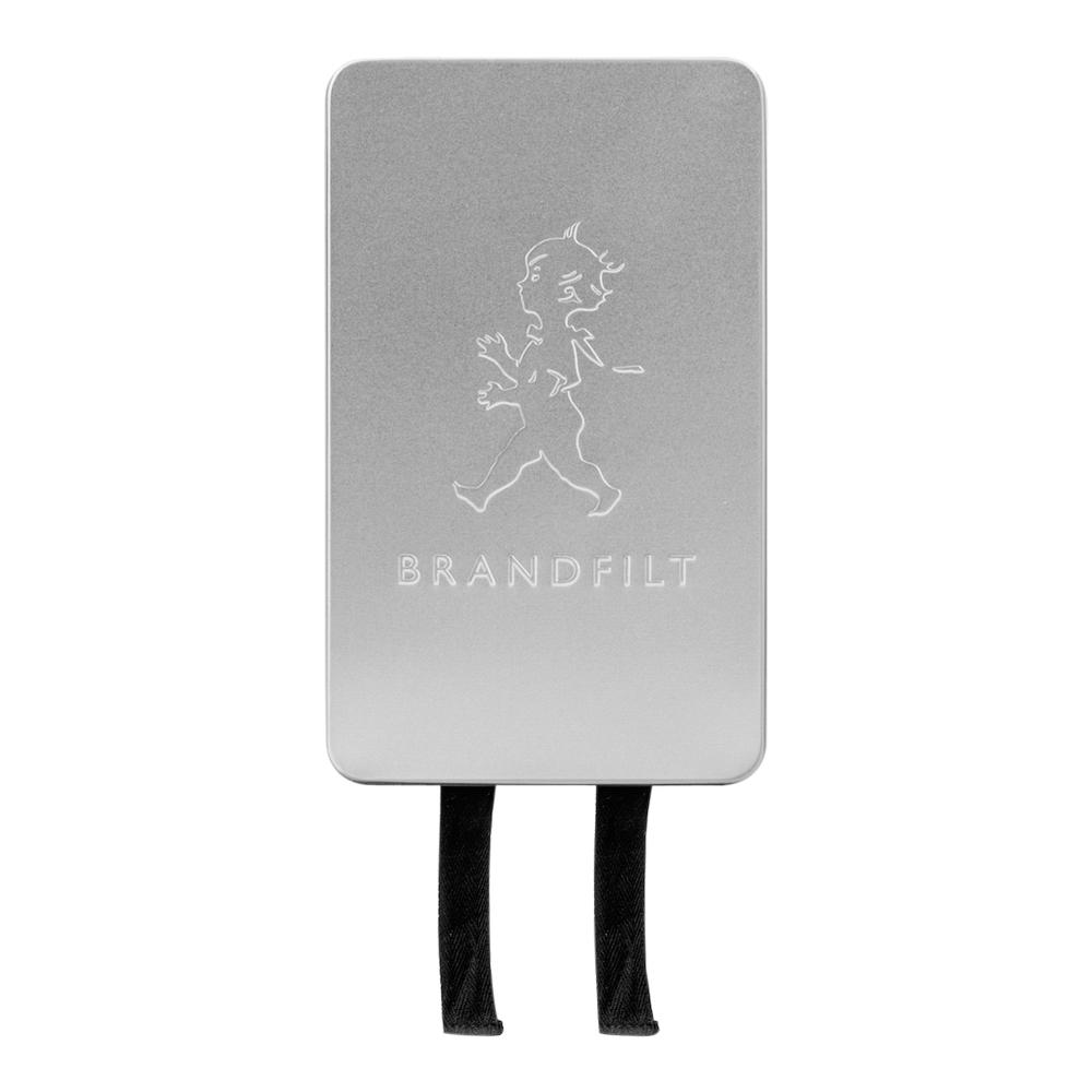 Brandfilt 120x120 cm Silver blank