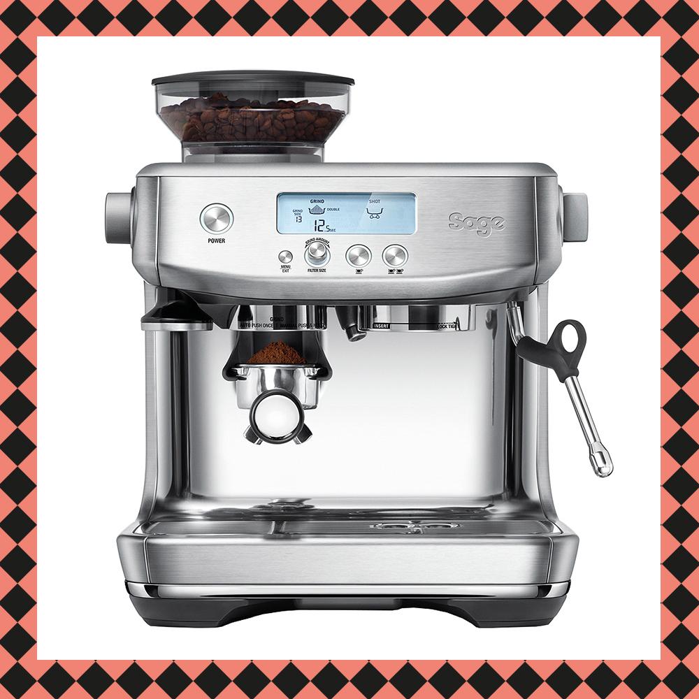 The Barista Pro Espressomaskin Rostfri