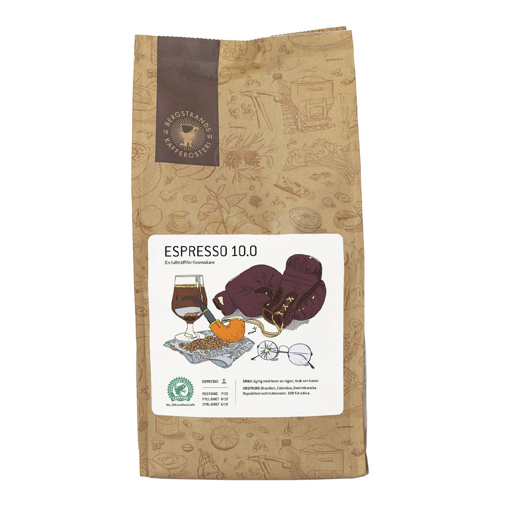 Espressobönor 10.0 1 kg