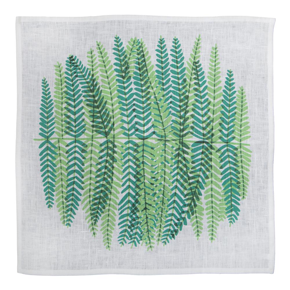 Evergreen Tygservett 34×34 cm