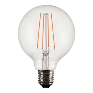 Elect Spiral Vintage led filament globe 95 mm 4 w