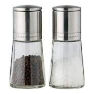 Clifton Salt/pepparkvarnsset Glas 14,5 cm