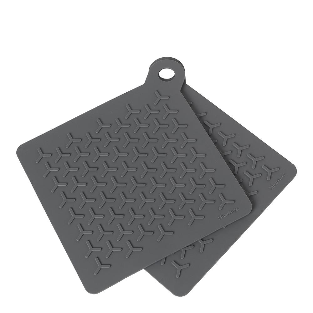 Flip Grytlapp Silikon 2-pack Magnet Grey