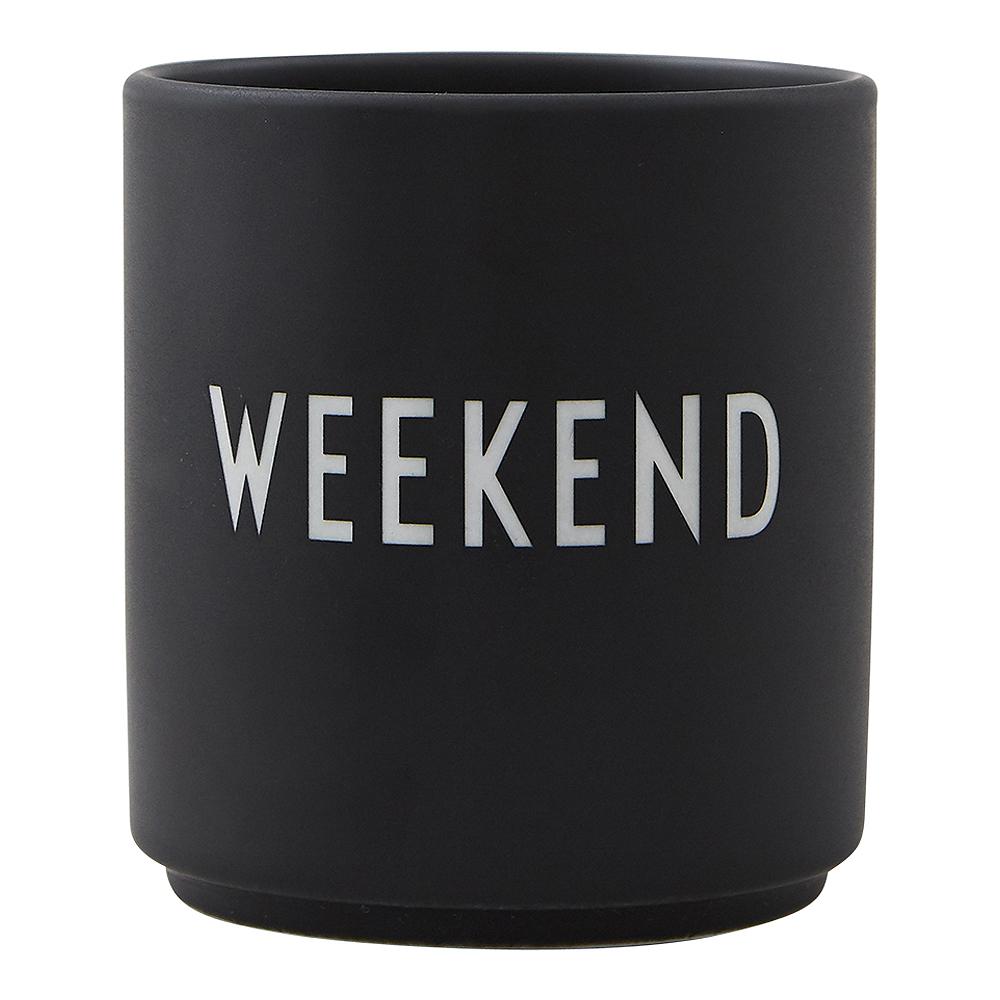 Favourite Cup Weekend Svart