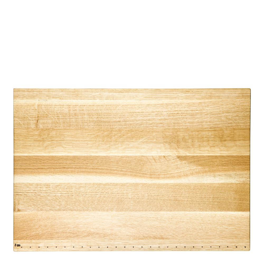 Skärbräda i ek 45x30 cm