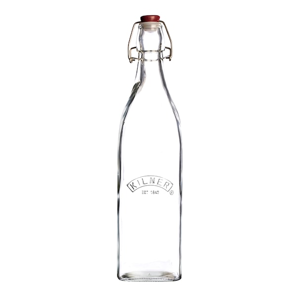 Clip Top Square Flaska 0,55 L bygel