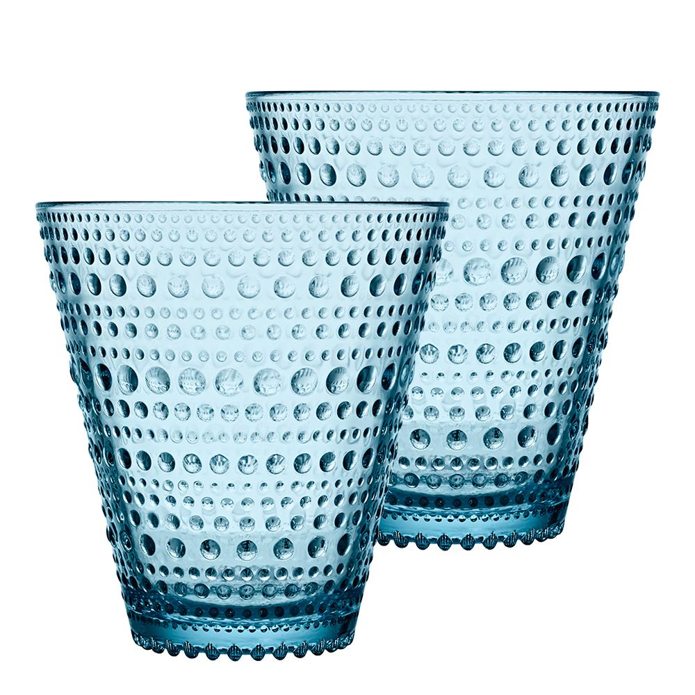 Kastehelmi Dricksglas 30 cl 2-pack Ljusblå