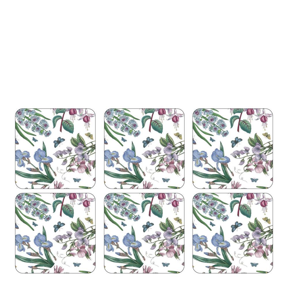 Botanic Garden Chintz Glasunderlägg 6-pack