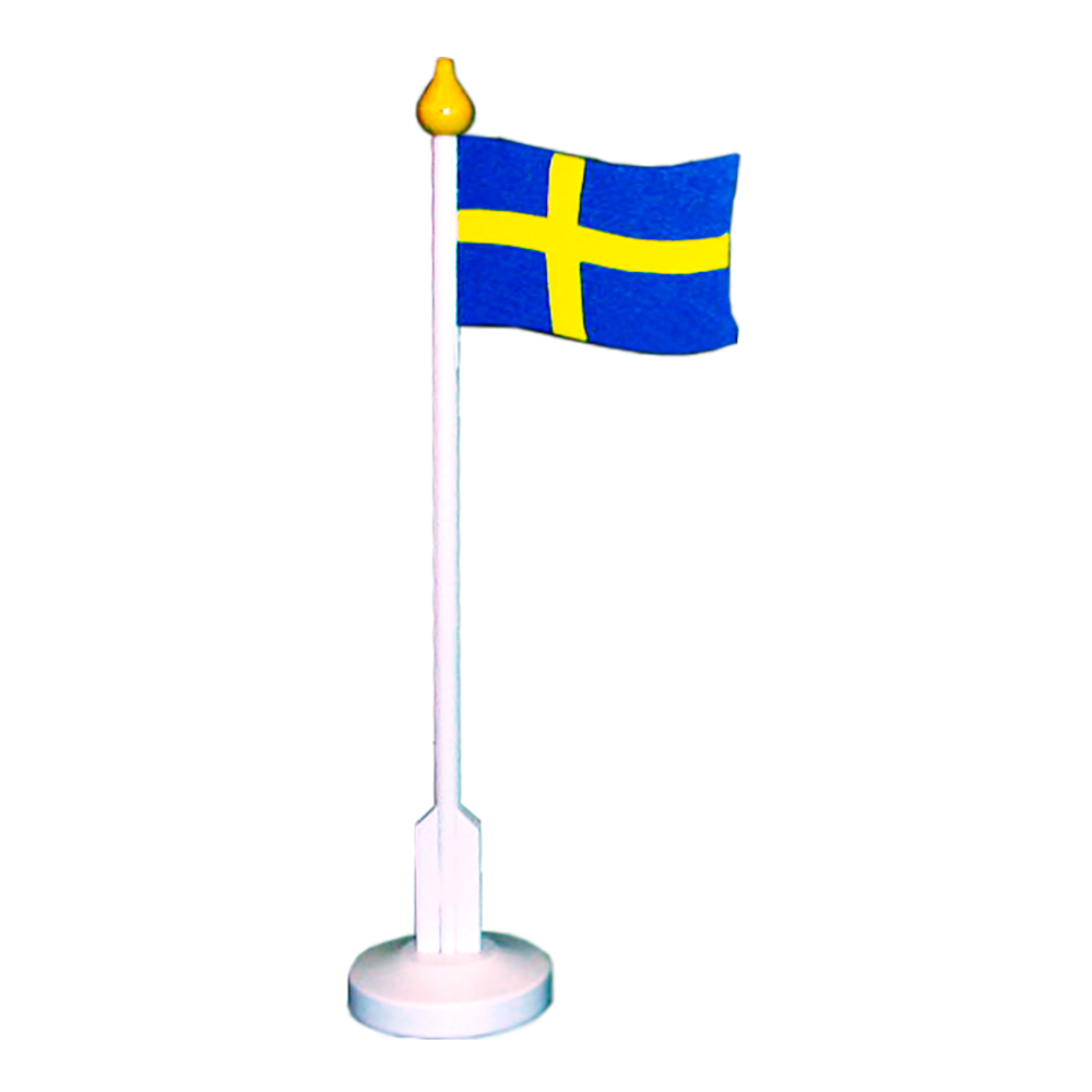 Dalasommar Träflagga 25 cm