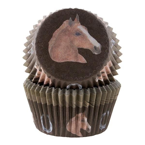 Form 5 cm häst 50-pack