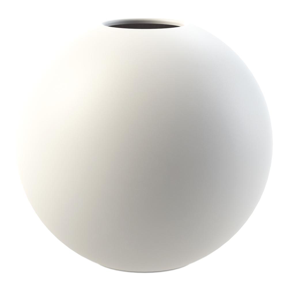 Ball Vas Vit 20 cm