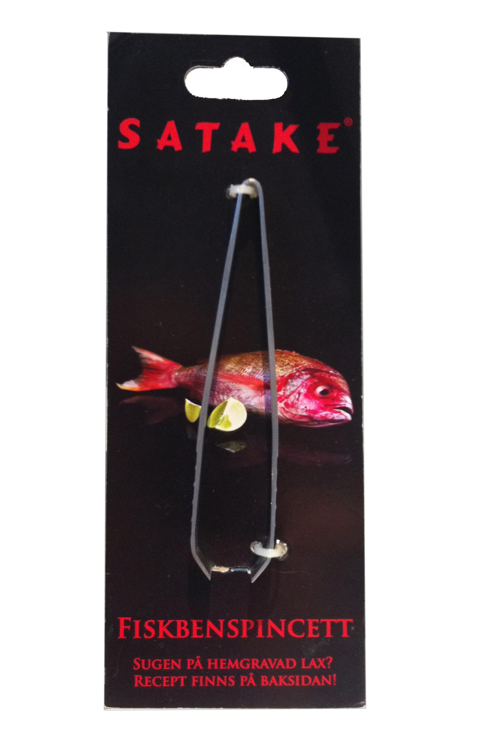 Fiskbenspincett 12 cm