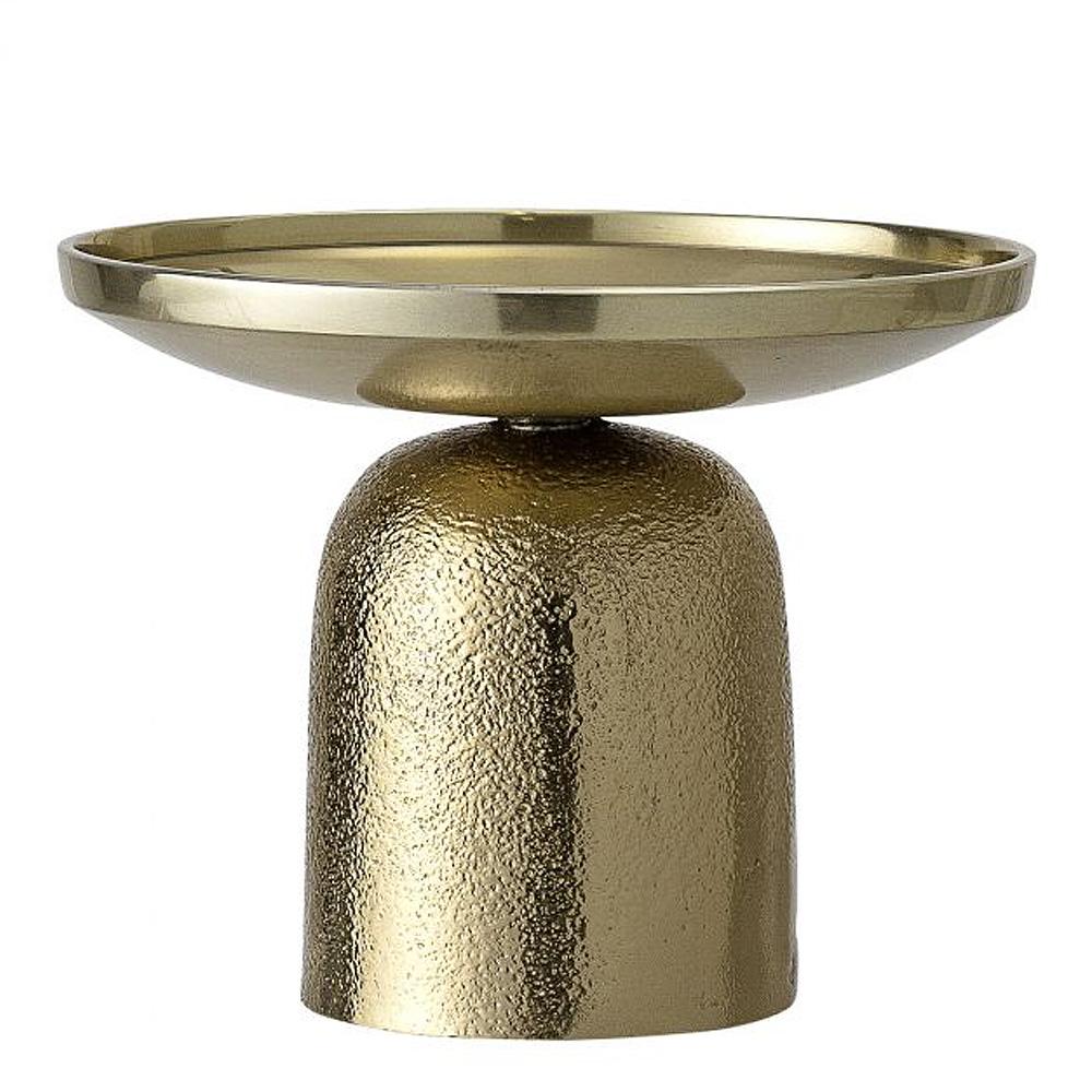 Ljusstake Guldfärgad Aluminium 10 cm