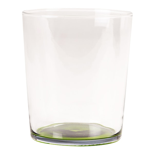 Djungle Tumbler 10x9 cm Klar/grön