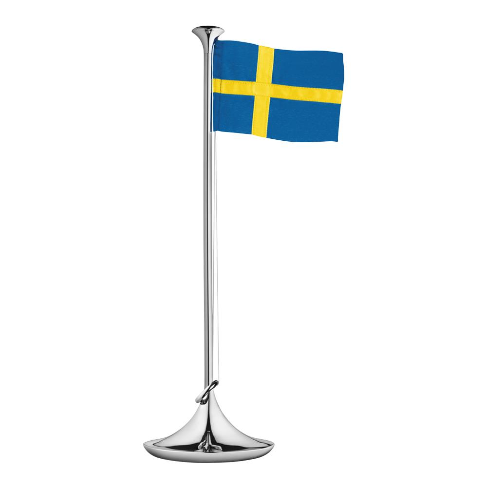Flaggstång 39 cm Svensk flagga
