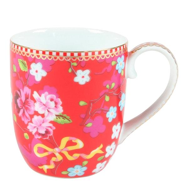 Floral Mugg liten Chinese Rose