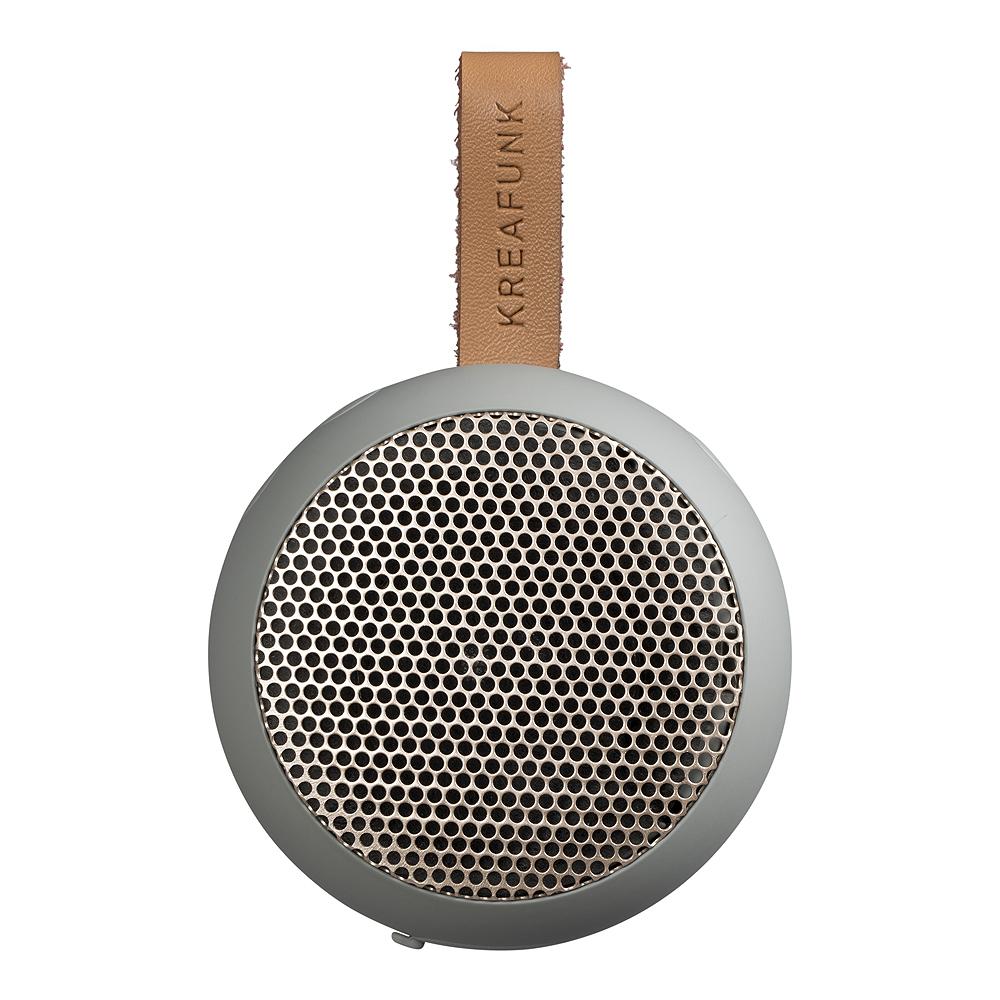 aGo Högtalare Bluetooth Cool Grey/Roséguld