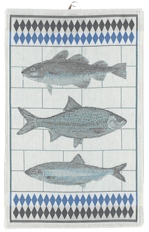 Handduk Fiskar 48x70 cm