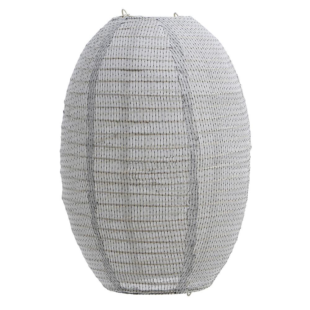 House Doctor Stitch Lampeskjerm 50x60 cm Lysegrå