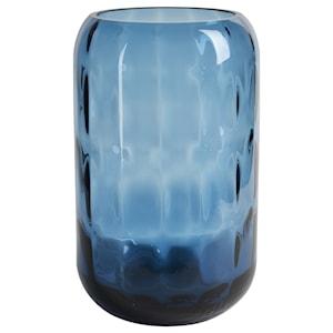 Elegance Vas 17 cm Blå