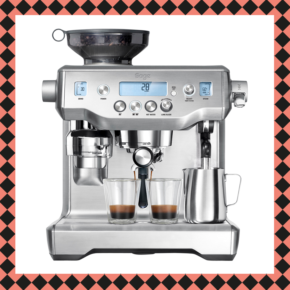 The Oracle Espressomaskin Rostfri