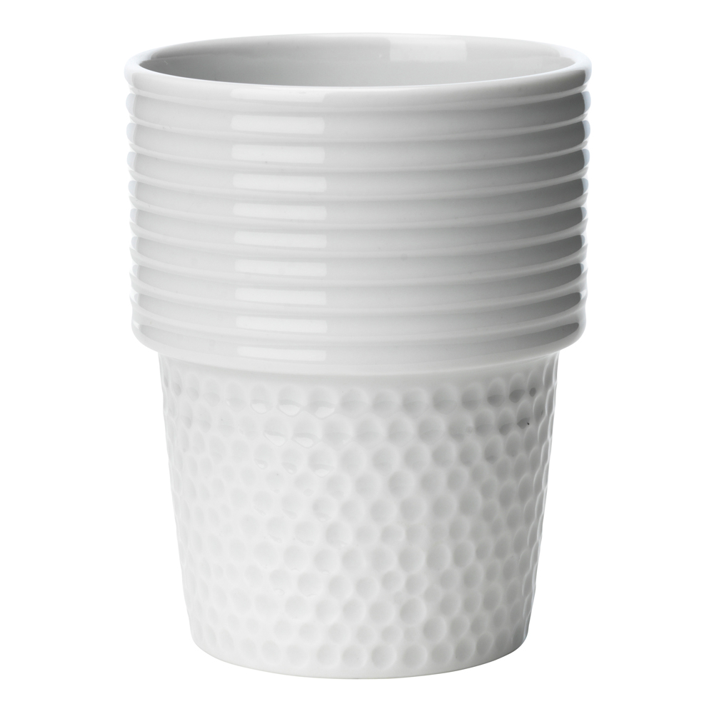 Fillippa K Kaffemugg 31 cl Vit 2-pack 10-års jubileum